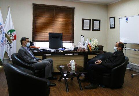 رئیس کمیته ملی پارالمپیک با دکتر نوروزی دیدار کرد
