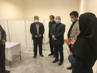 بازدید معاون وزیر ورزش و جوانان از آکادمی پزشکی ورزشی کرمانشاه