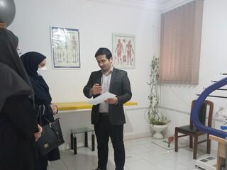 بازدید معاون ورزش بانوان گلستان از مرکز مشاوره و استعدادیابی ورزشی هیات پزشکی ورزشی