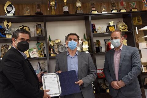 تقدیر دکتر نوروزی از رییس سابق هیات پزشکی ورزشی استان البرز