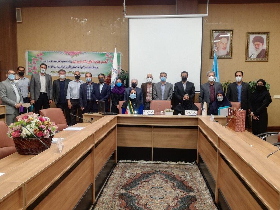 مجمع سالانه هیأت پزشکی ورزشی استان البرز برگزار شد