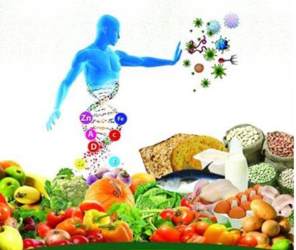 تغذیهی سالم میتواند مقاومت بدن را بالا ببرد و ما را در مقابل بسیاری از بیماریها محافظت کند