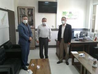 جلسه معرفی دکتر سیدمجتبی سیدصادقی به عنوان رئیس هیأت پزشکی شهرستان الوند