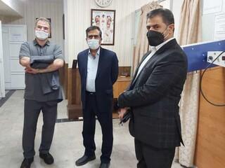 بازدید دکتر اردیبهشت از هیأت پزشکی ورزشی کرمان