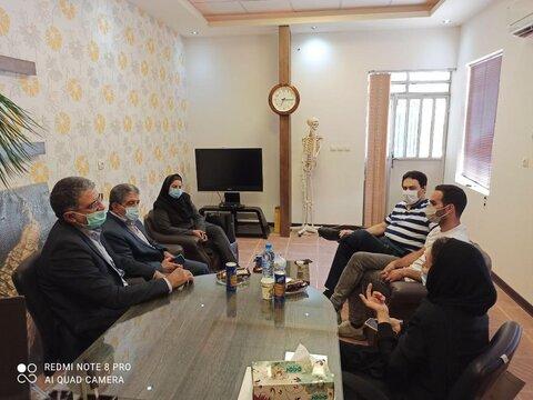 نشست برنامه ریزی هیات پزشکی ورزشی و هیات اسکیت استان یزد