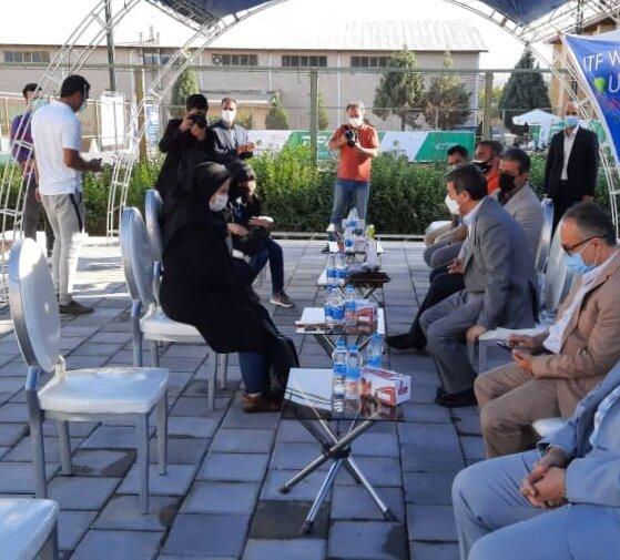 تشریح عملکرد پزشکی ورزشی برای استاندار آذربایجان غربی