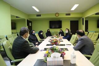 جلسه بررسی عملکرد کمیته خدمات درمانی