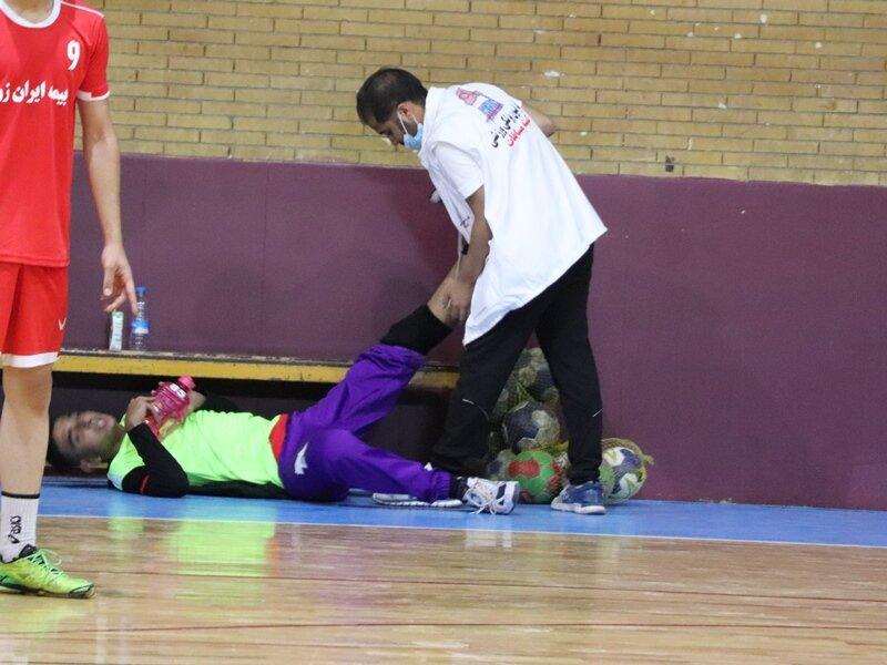 پوشش پزشکی مسابقات هندبال یادواره شهید قاسم سلیمانی