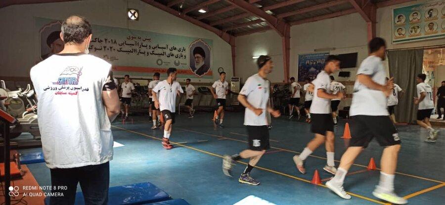 پوشش پزشکی اردوی تیم ملی هندبال