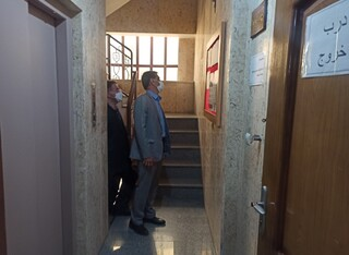 بازدید رئیس فدراسیون از هیت پزشکی اصفهان