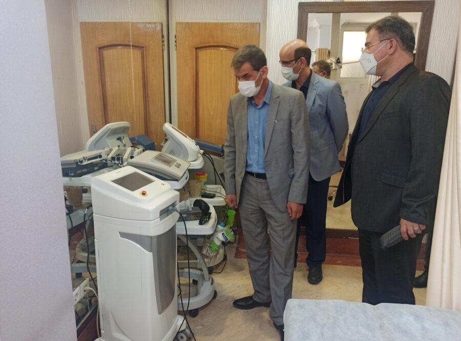 بازدید رئیس فدراسیون از هیات پزشکی ورزشی استان اصفهان