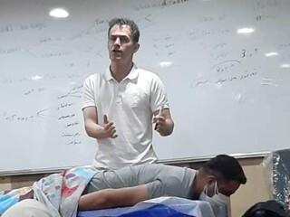 کارگاه آموزشی  آشنایی با ماساژ ورزشی
