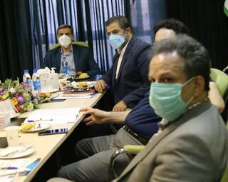 جلسه شورای مرکزی کمیته خدمات درمانی