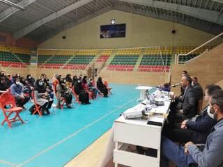 کارگاه آموزشی دوپینگ و مکمل های ورزشی در اردبیل