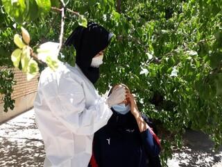تب سنجی و نظارت بر سلامت مسابقات انتخابی تیم ملی دختران - چهار محال وبختیاری
