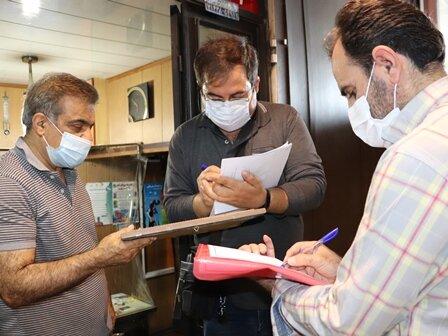 بازرسی هفتگی مشترک ناظرین هیات پزشکی ورزشی فارس و بازرسان دانشگاه علوم پزشکی شیراز از باشگاه های ورزشی