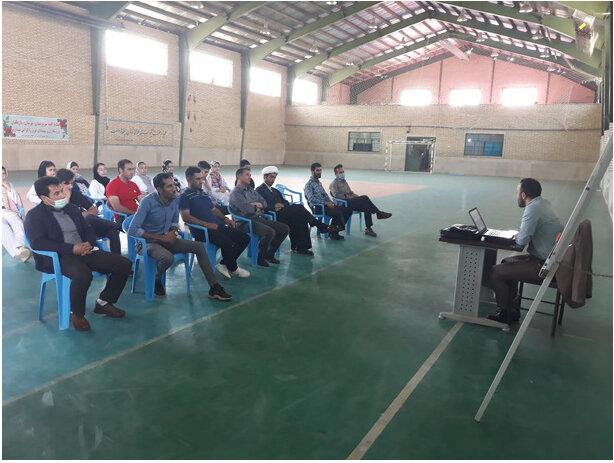 برگزاری نشست تخصصی کارگاه آموزشی روانشناسی در سالن ورزشی حجاب شهرستان گرمی