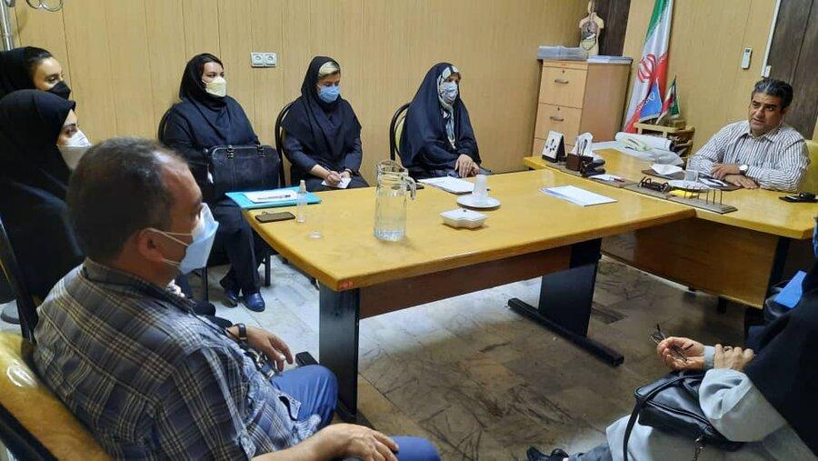جلسه هم اندیشی همکاران خدمات درمانی استان البرز با رؤسای هیأت پزشکی ورزشی