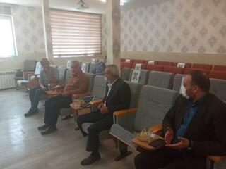 جلسه اعضای هیات رئیسه ی هیات پزشکی ورزشی استان
