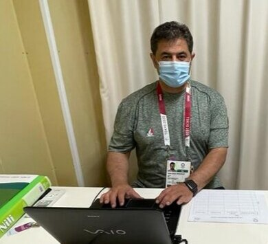 آسیب دیدگی جدی در کاروان ایران نداریم/تاکنون تست PCRهمه ورزشکارانمان منفی است