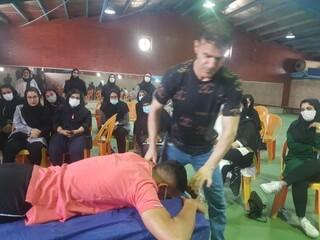کارگاه آموزشی ماساژ ورزشی
