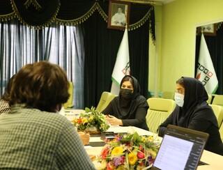 جلسه بررسی نرم افزار جامع خدمات درمانی