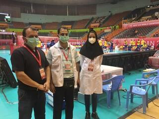 پوشش پزشکی رقابت های والیبال نوجوانان جهان
