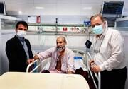 عیادت مدیر کل دستگاه ورزش و رئیس هیات پزشکی ورزشی مازندران از رئیس هیات کشتی استان