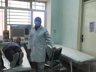 آغاز پویش اهدا خون جامعه ورزش و جوانان شهرستان اوز در استان فارس