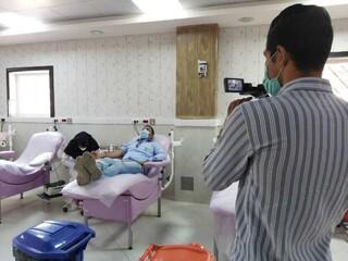 اجرای طرح سراسری اهدای خون جامعه ورزش استان کرمان