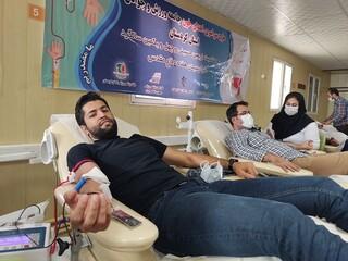 جامعه ورزشی کردستان در اهدای خون شرکت کرد