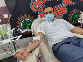 دعوت جامعه ورزشی به پویش سراسری اهدای خون توسط دکتر اخلاقی رئیس هیات بدنسازی و پرورش اندام استان هرمزگان