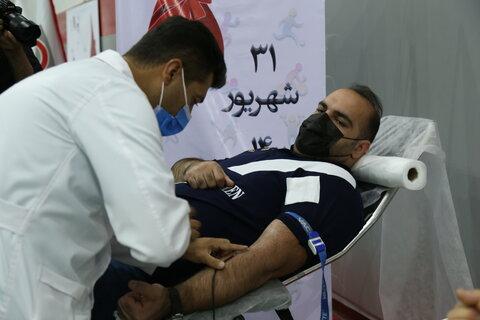 بازتاب خبری برپایی ایستگاه اهدای خون ورزشگاه انقلاب تهران