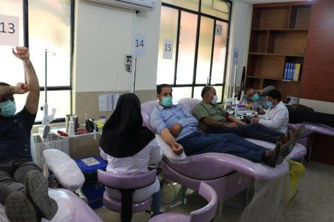 اجرای طرح اهدا خون در ایلام