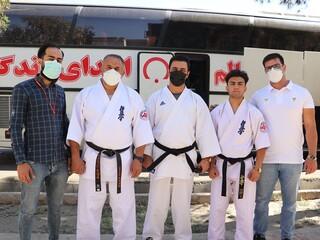 اهدا خون ورزشکاران شیرازی