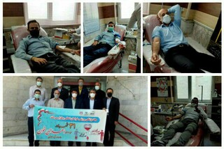 طرح سراسری اهدای خون جامعه ورزش و جوانان در خراسان شمالی