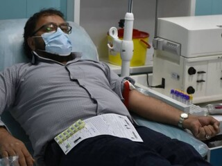 اجرای طرح سراسری اهدای خون/شهرستان رفسنجان