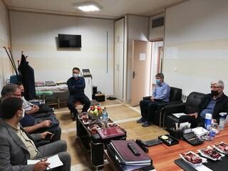 جلسه بررسی عملکرد و بازدید از هیات پزشکی ورزشی استان اردبیل
