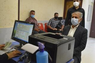 حضور جامه ورزش شهرستان نی ریز فارس در پویش سراسری اهدا خون
