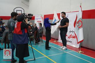 بازتاب تصویری طرح اهدای خون جامعه ورزش و جوانان در پایگاه خبری سازمان انتقال خون