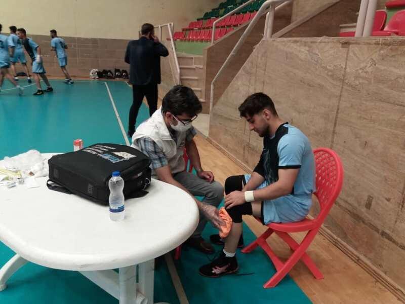 پوشش پزشکی ورزشی مسابقات تیم ملی کبدی کشوری