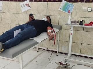 حضور جامعه ورزش شهرستان سروستان استان فارس در پویش اهدا خون