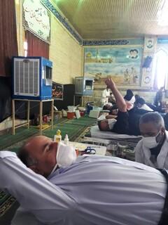 حضور جامعه ورزش شهرستان کوار استان فارس در پویش اهدا خون