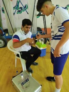 پوشش پزشکی مطلوب مسابقات هندبال جوانان باشگاه های کشور در یاسوج