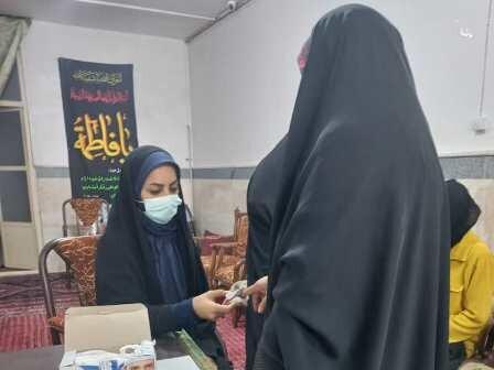 برپایی ایستگاه سلامت در شهرستان آرادان