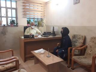 معاینات پزشکی بانوان کاراته کار استان مرکزی