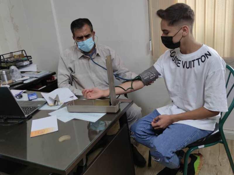 معاینات پزشکی دانش آموزان رشته تربیت بدنی کرمان