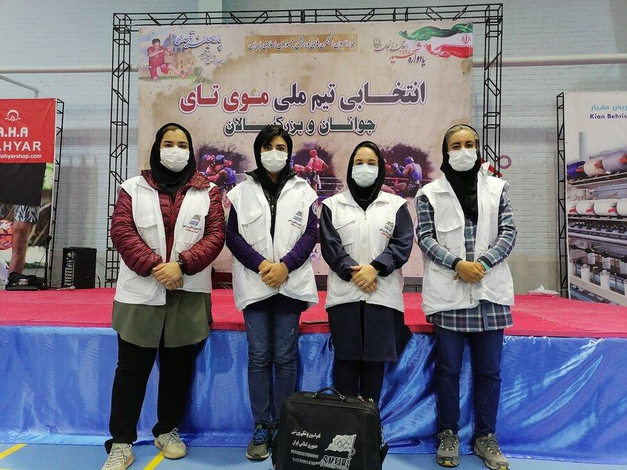 برنامه ریزی برای پوشش پزشکی مسابقات کشوری مویتای در زنجان