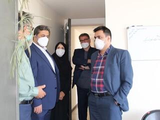 بازدید دکتر اردیبهشت از هیات پزشکی ورزشی قزوین / گزارش تصویری