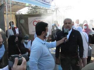 پوشش پزشکی همایش پیاده روی خانوادگی تهران
